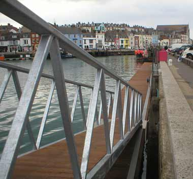 Weymouth Harbour - View 1